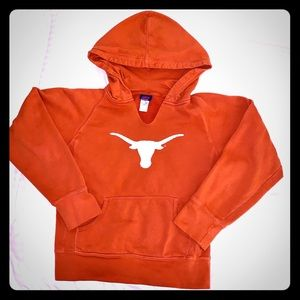Texas Longhorns hooded sweatshirt size M